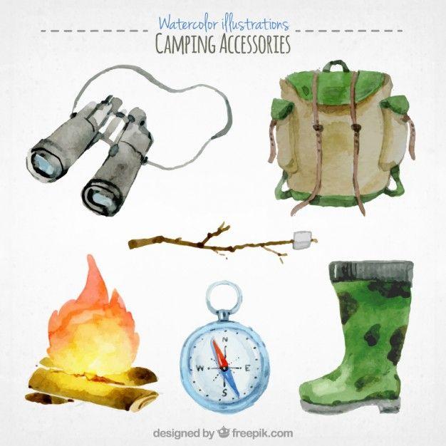 Paquete de accesorios de camping