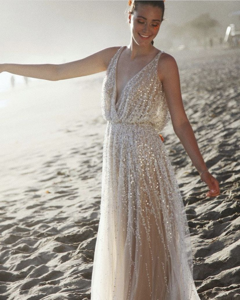 Sparkly Wedding Dress Celestial By Willowby In 2020 Wedding Dresses Near Me Sparkly Wedding Dress Wedding Dresses Houston