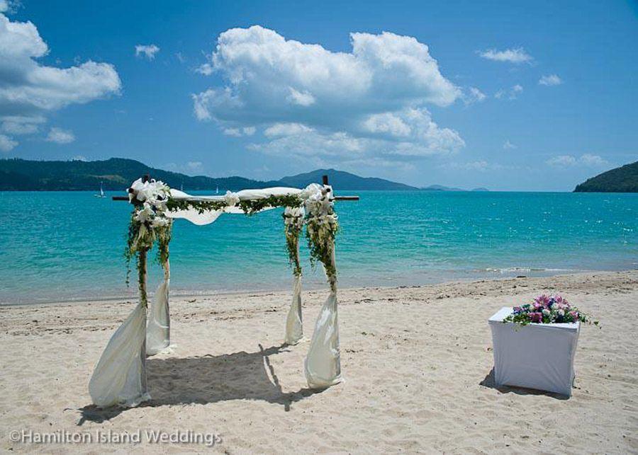 Fl Altar Photo Courtesy Of Hamilton Island Weddings