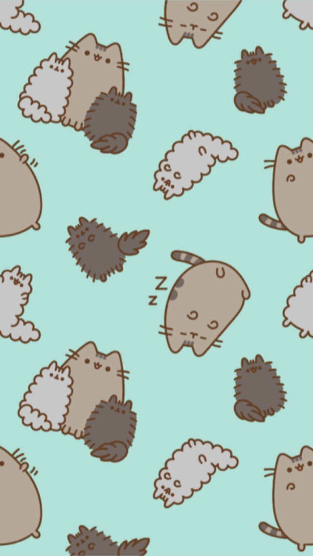 Pin By Bryanna Vidden On Phone Wallpapers Pusheen Cute Pusheen Cat Pusheen