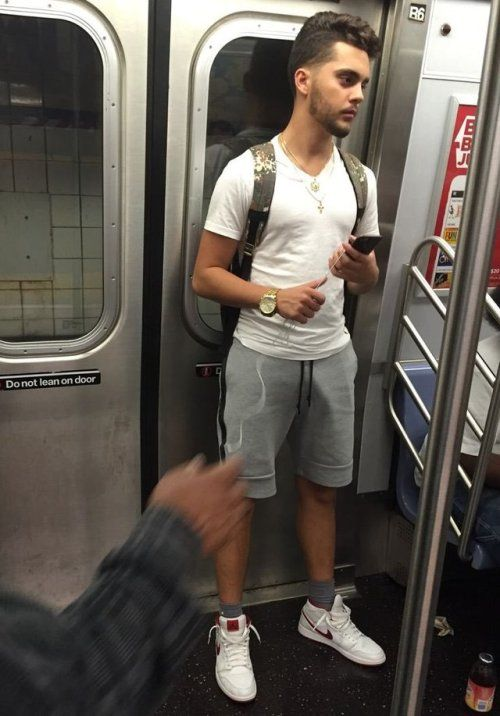 penis bulge in public