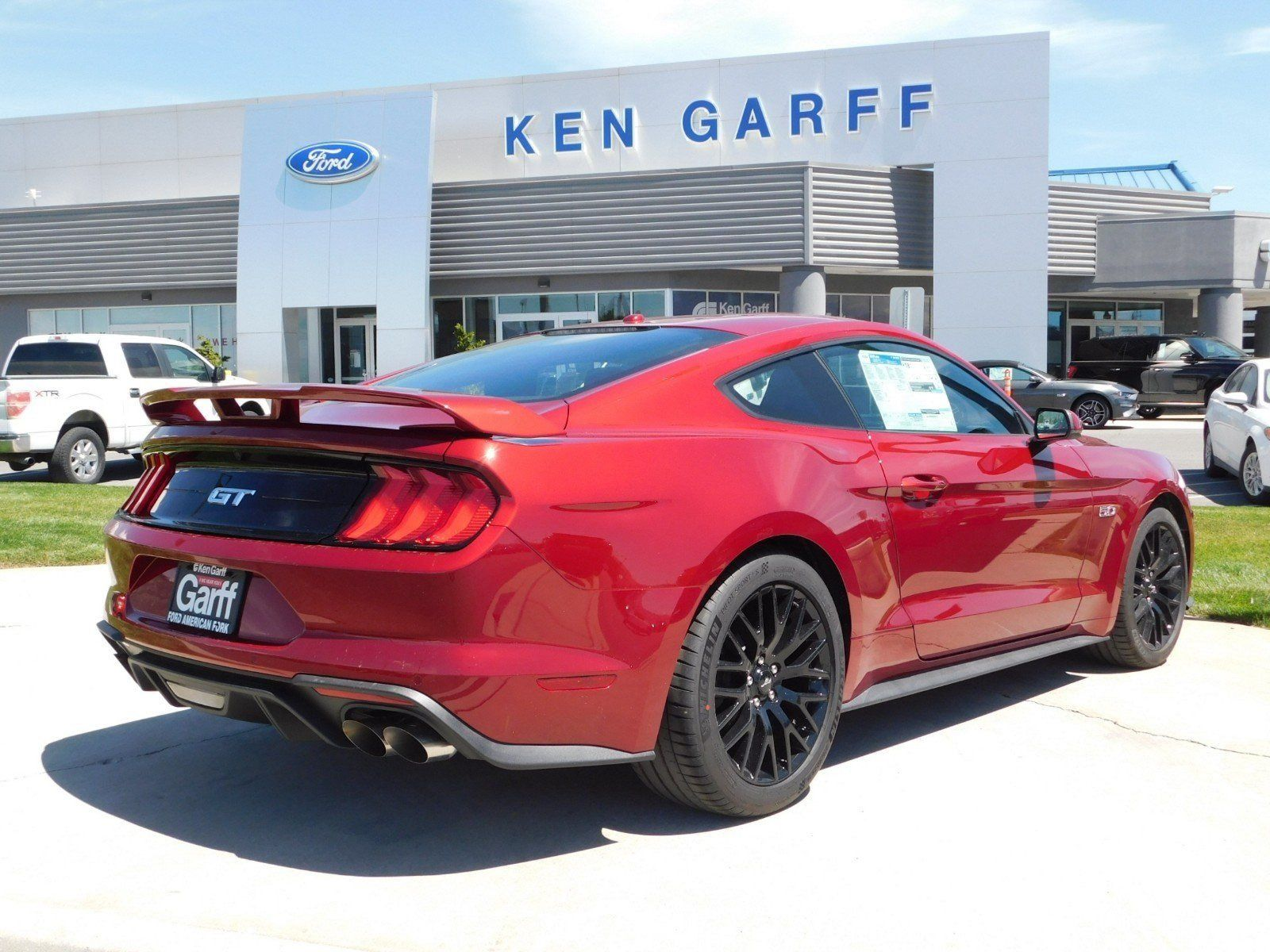 New 2019 Ford Mustang Gt Premium 2dr Car 1f Ford Gt Super Cars