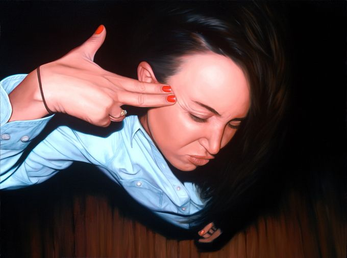 Painting by Jeff Ramirez