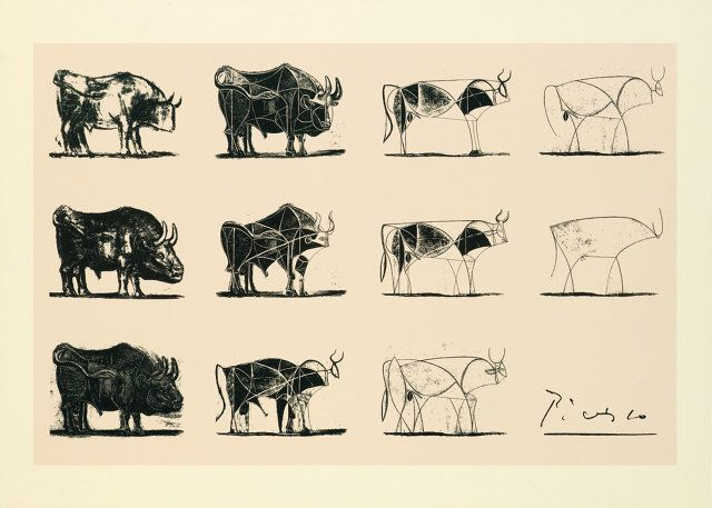 How Apple Uses Picasso To Teach Employees About Product Design | Otro enlace: http://www.artyfactory.com/art_appreciation/animals_in_art/pablo_picasso.htm Más Picasso y más toros: http://www.pinterest.com/dazzioart/picasso-the-bull-series/