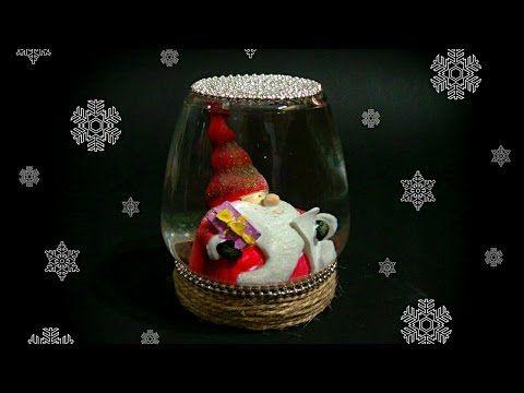 DIY - SNOW GLOBE - TUTORIAL / CHRISTMAS CRAFTS / GIFT IDEAS DIY