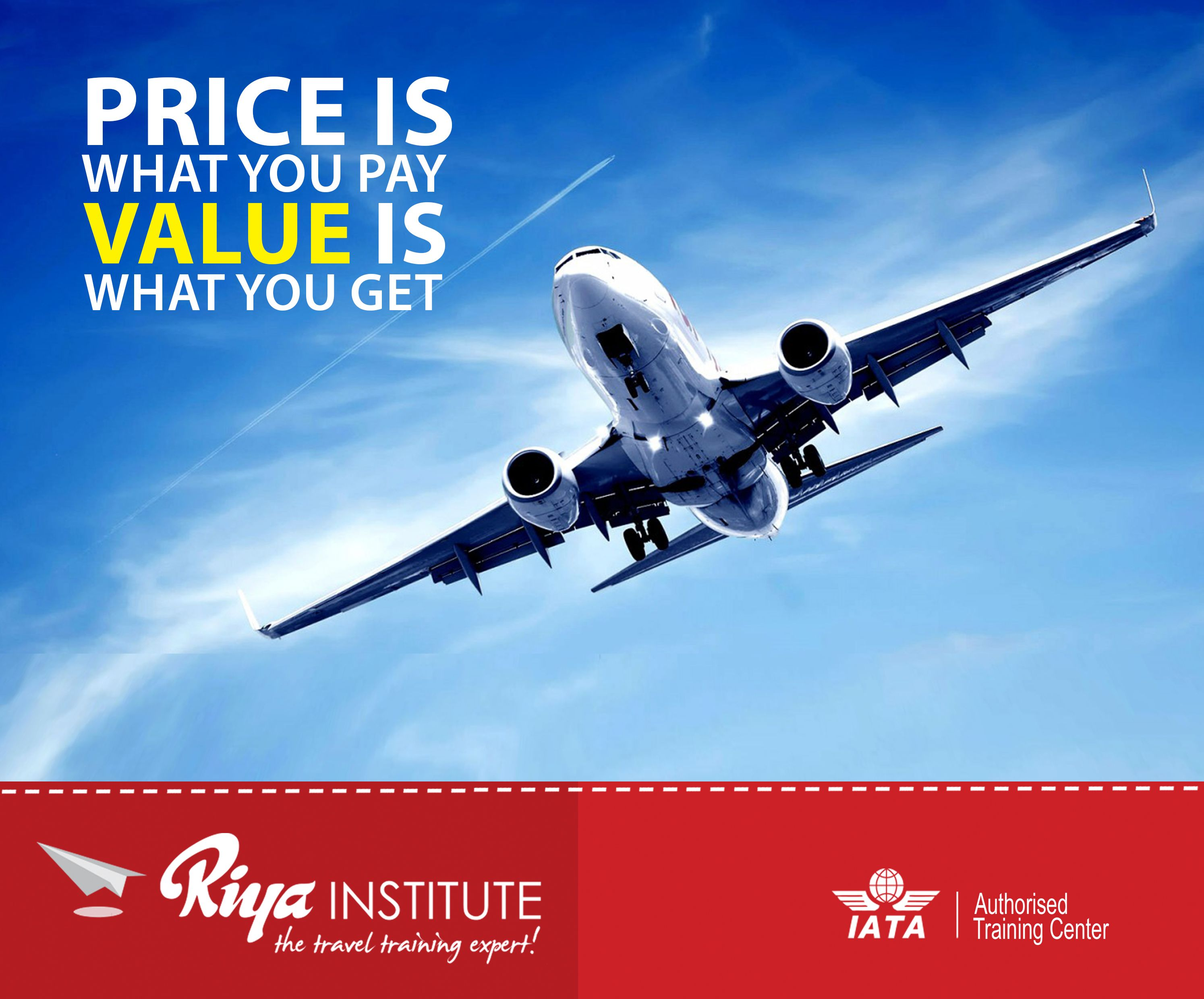 Price is what you pay, Value is what you get !!! Study at