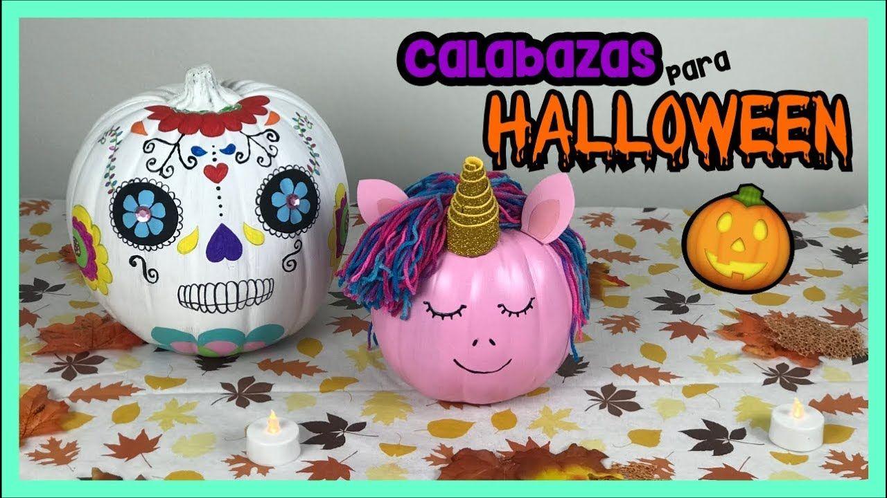 Como Decorar Calabazas Para Halloween Calabazas Faciles De Hacer - Como-decorar-una-calabaza-para-halloween