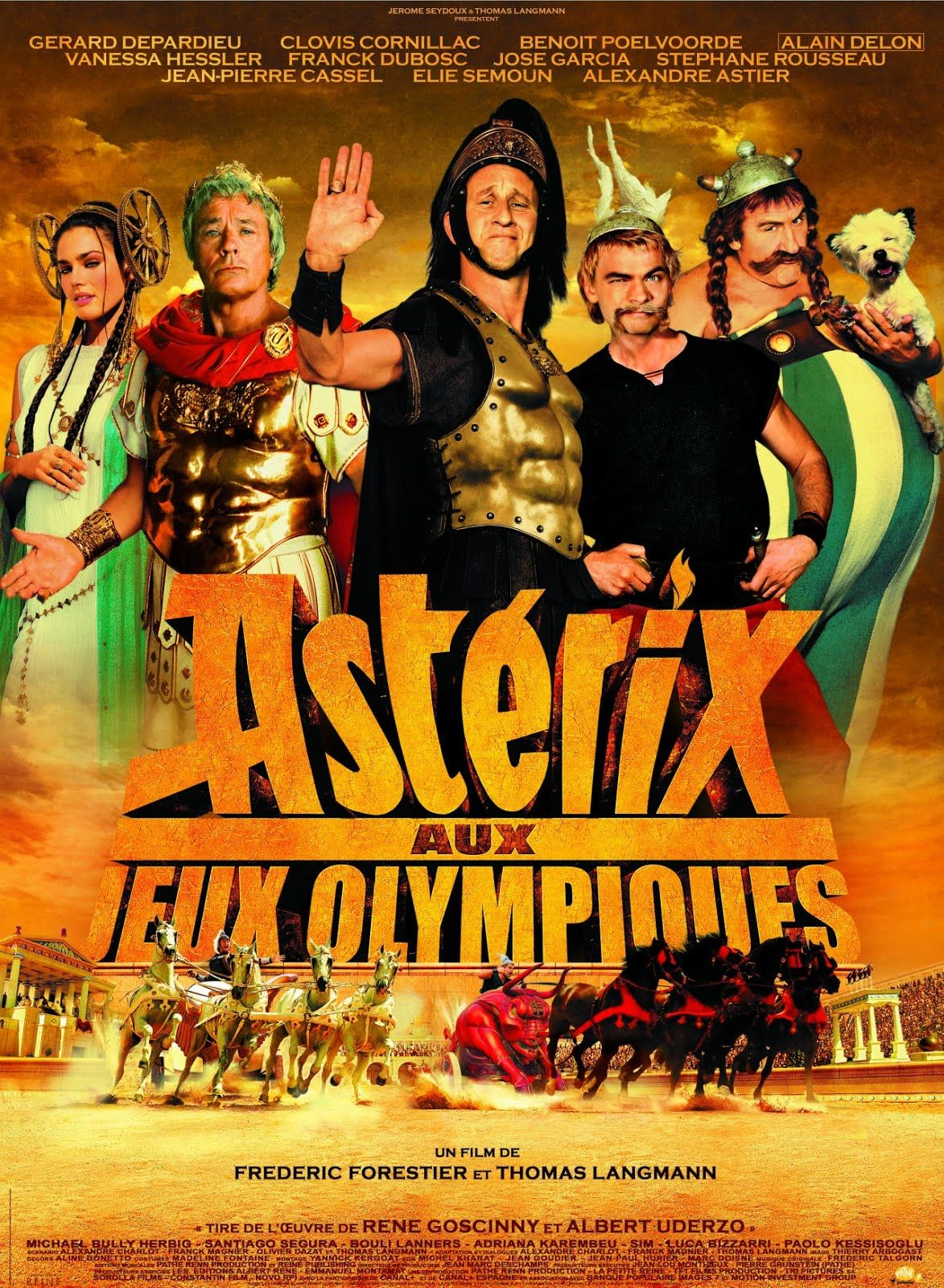 Easily Forgotten Asterix At The Olympic Games Astérix Aux Jeux Olympiques By Frédéric Forestier And Thomas Langmann 2008 Olympic Games French Movies Film