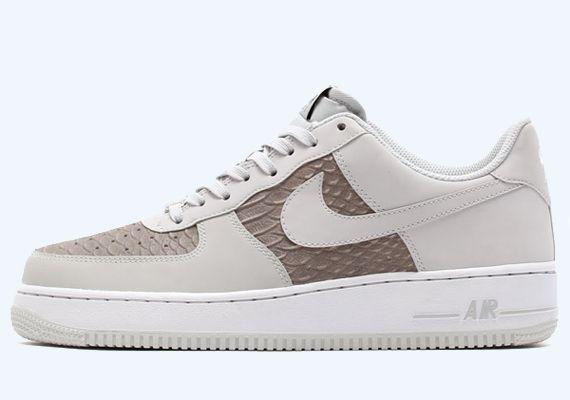 Nike Air Force 1 Low White Grey Python