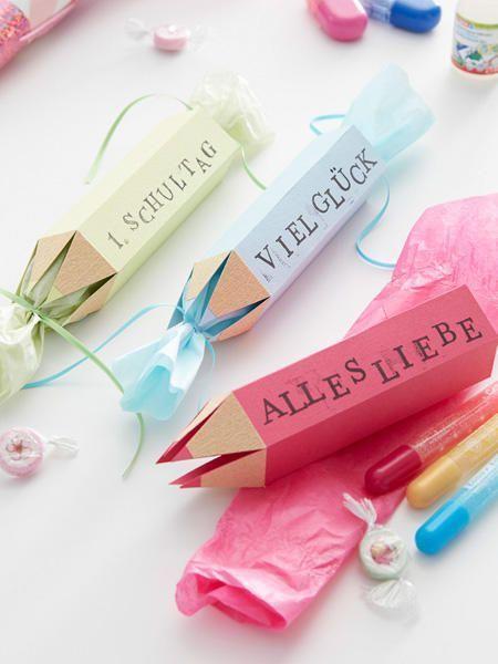 Kreative Geschenkverpackung zum Schulanfang | Wunderweib