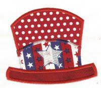 Free Patriotic Hat Applique
