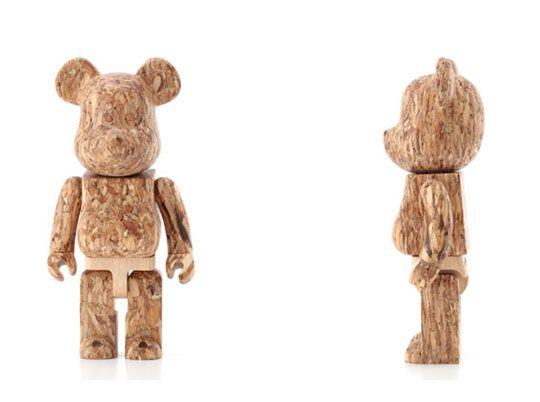 Wooden 400% Bearbrick