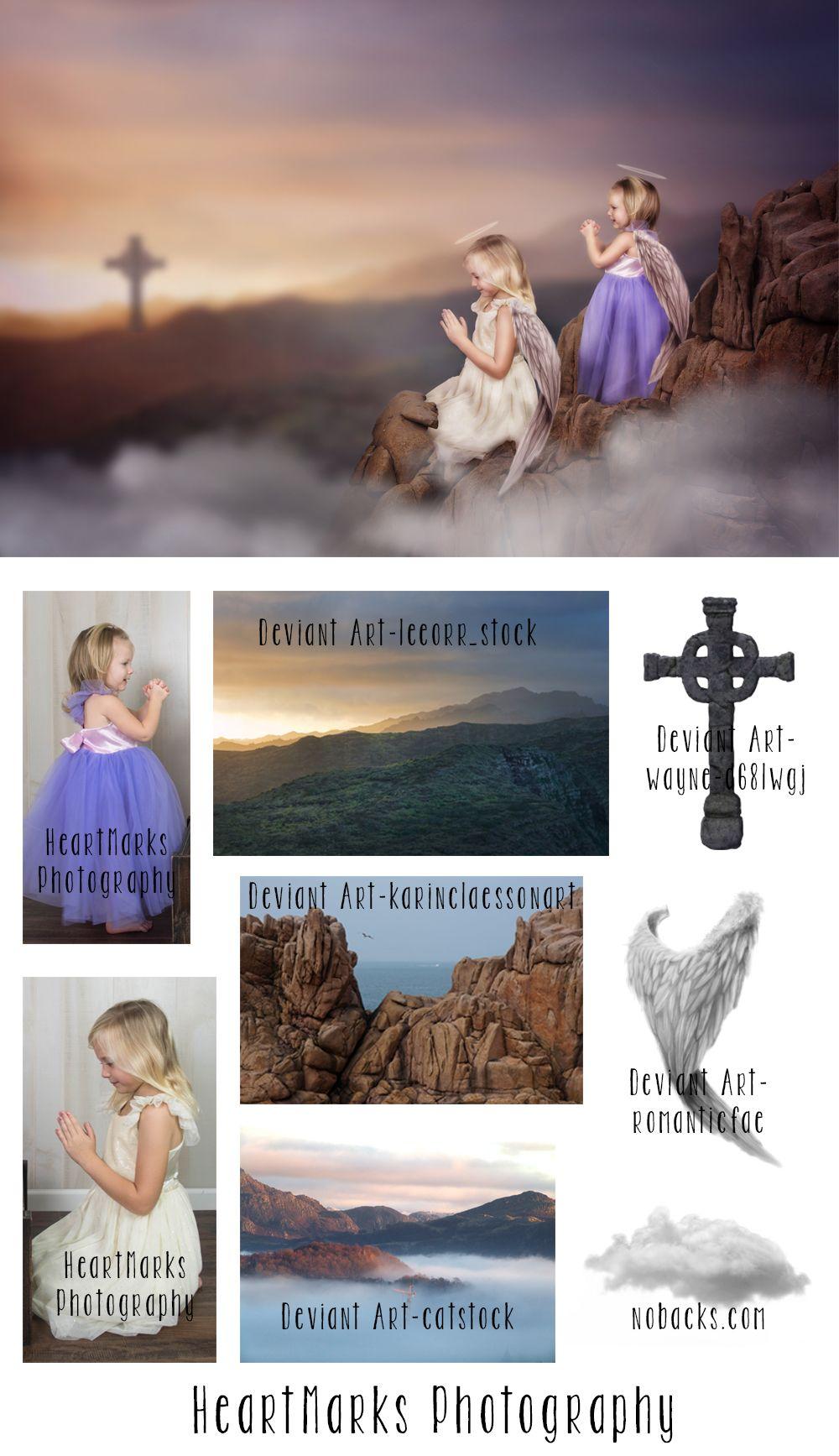 Imagine tell it on the mountain photography tutorials photoshop tell it on the mountain photoshop composite by heartmarks photography tutorial from tara lesher photography baditri Images