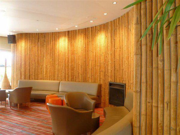 Decorative Bamboo Poles Living Room Decor Ideas Spectacular Bamboo Wall