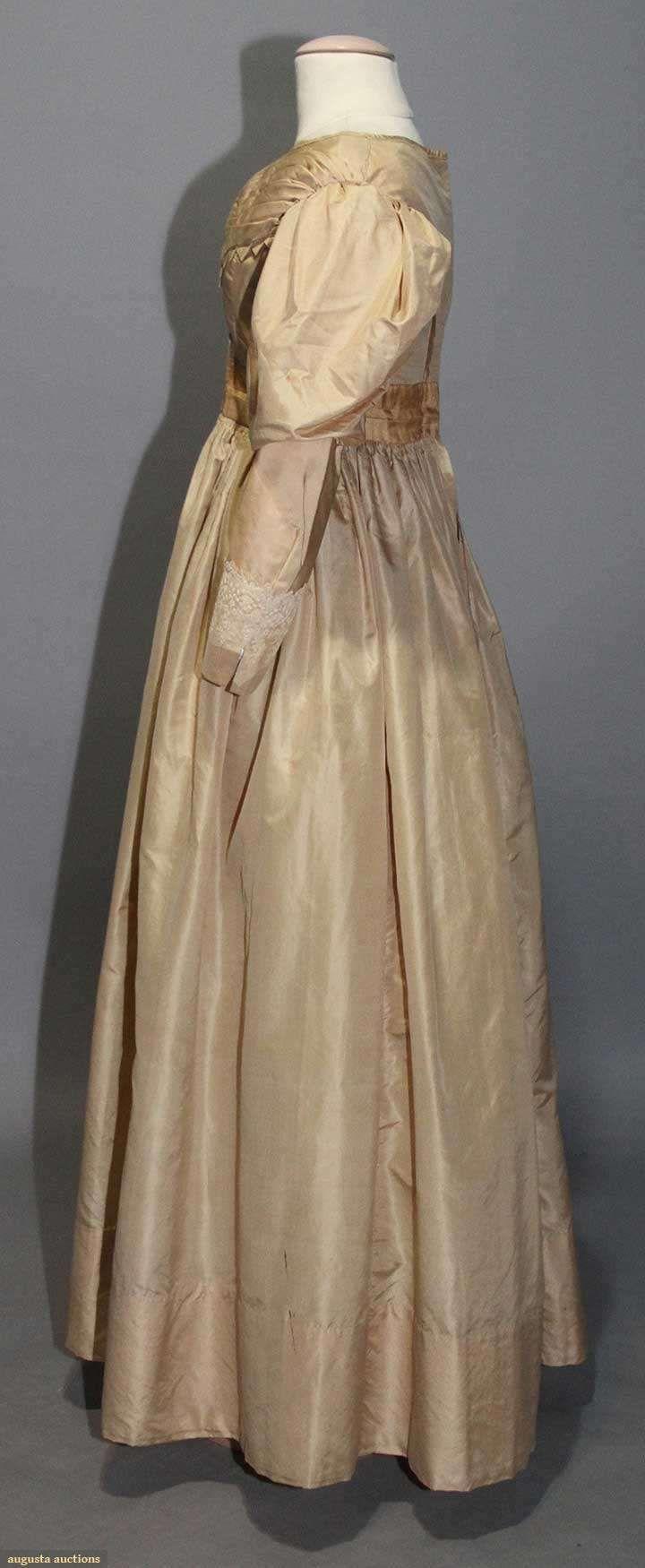 Day dress image taffeta augusta auctions may