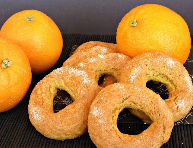 : Rollos de naranja