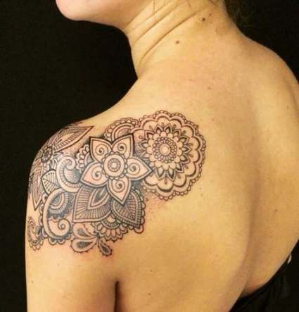 Tattoo Mandala Shoulder Tatuajes 44+ Ideas