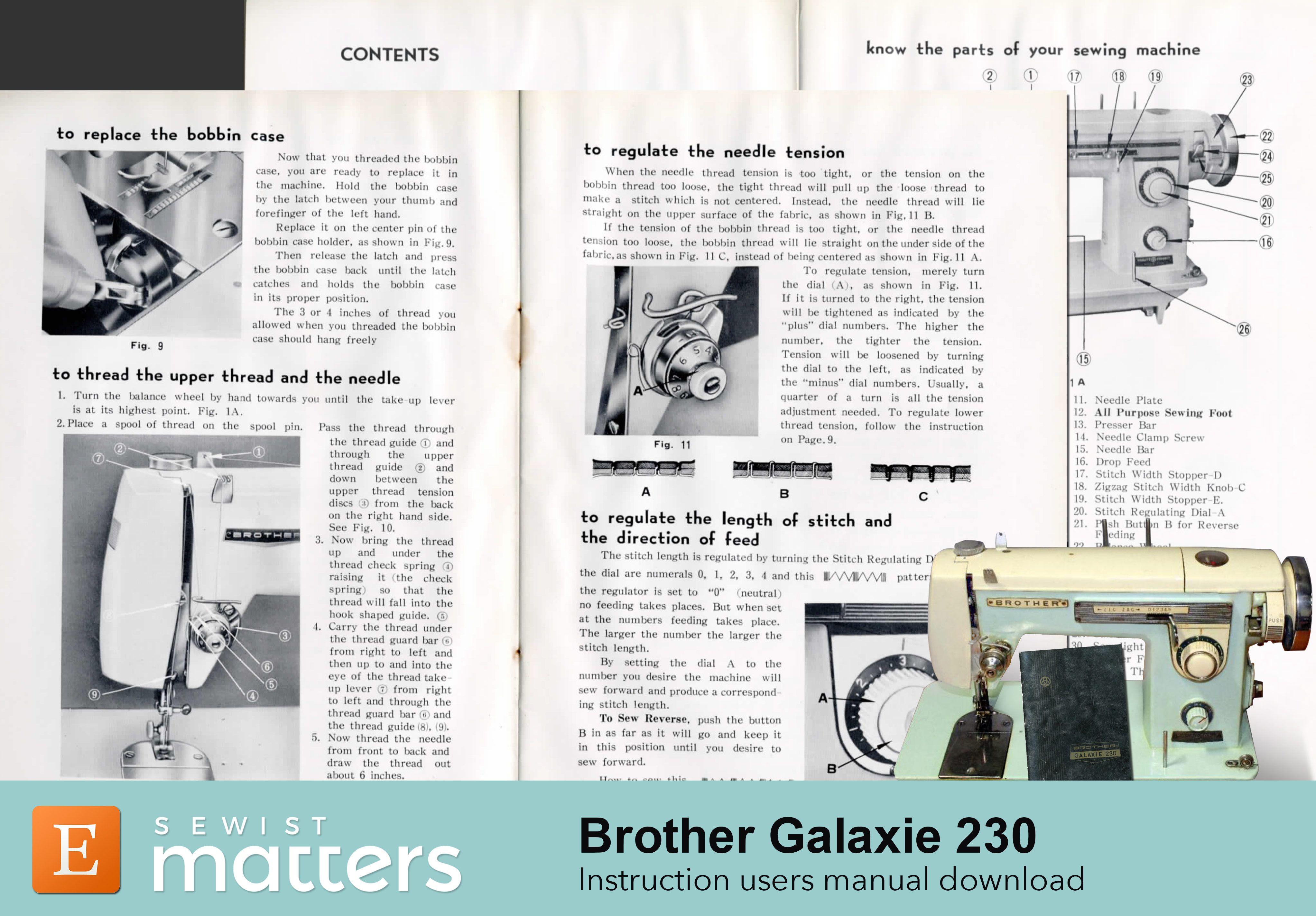 Vintage Remington Super Deluxe 142-B Automatic ZigZag Sewing Machine Manual PDF Download