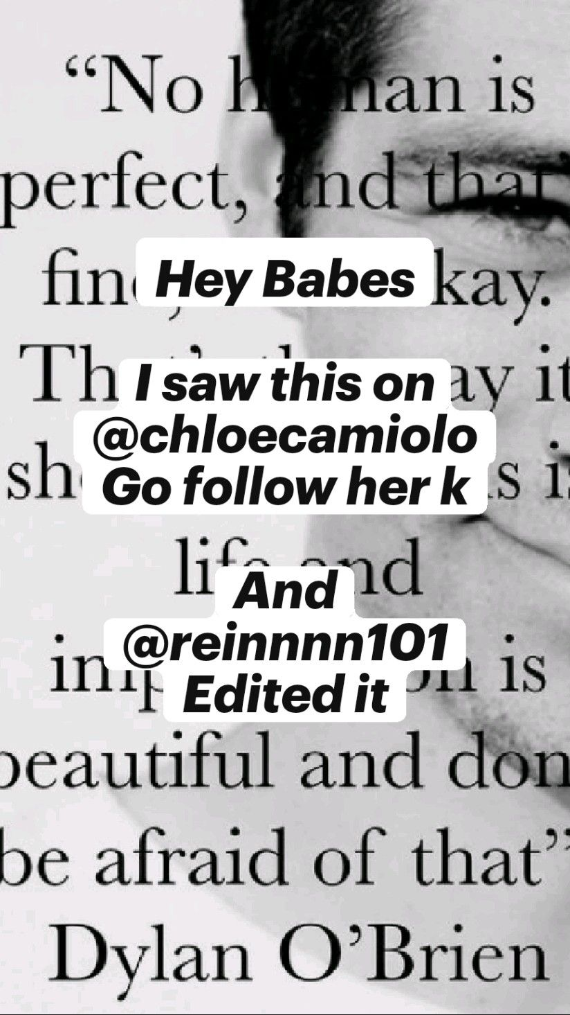 Hey Babes  I saw this on @chloecamiolo Go follow h