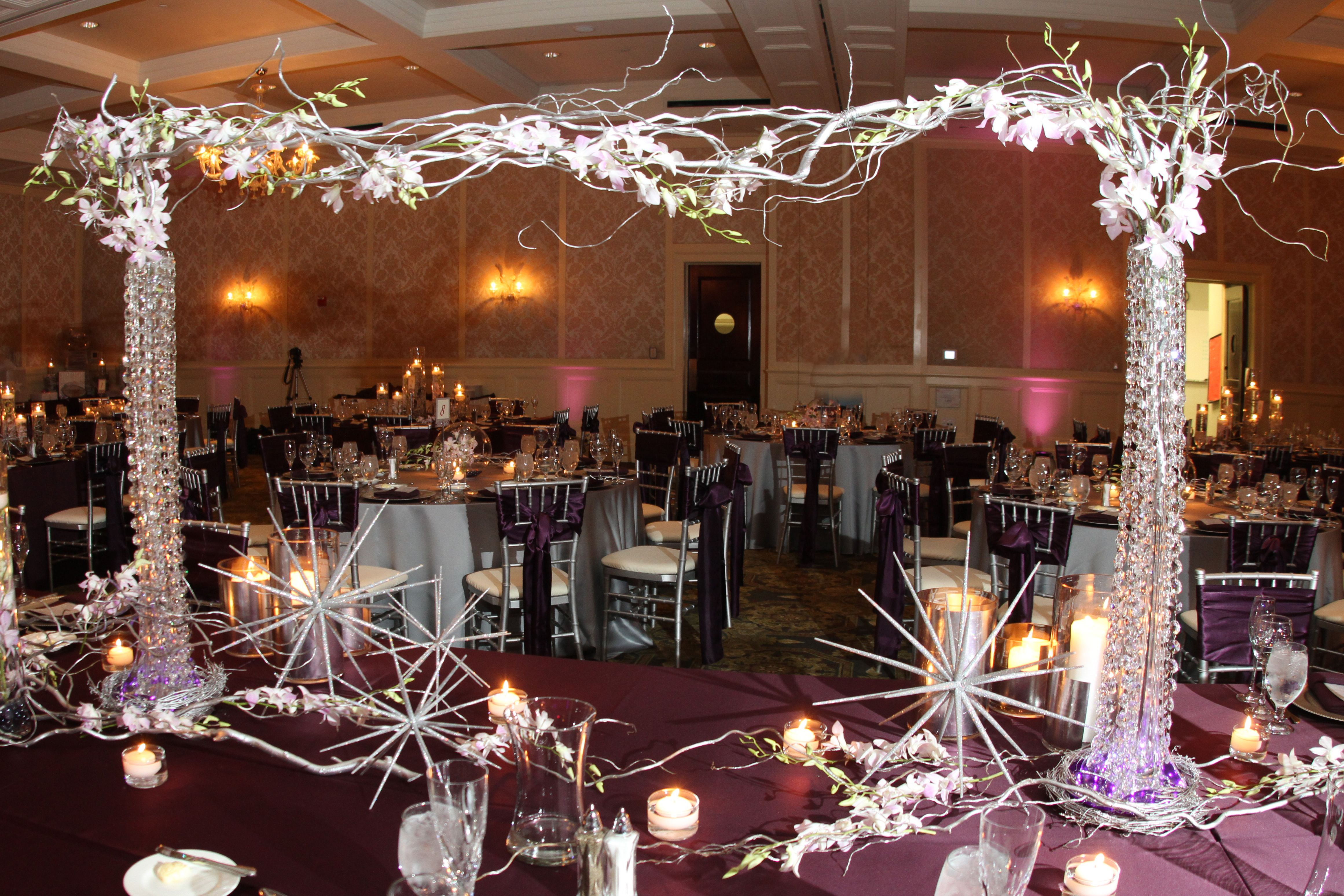 Ballroom Reception Royal Park Wedding