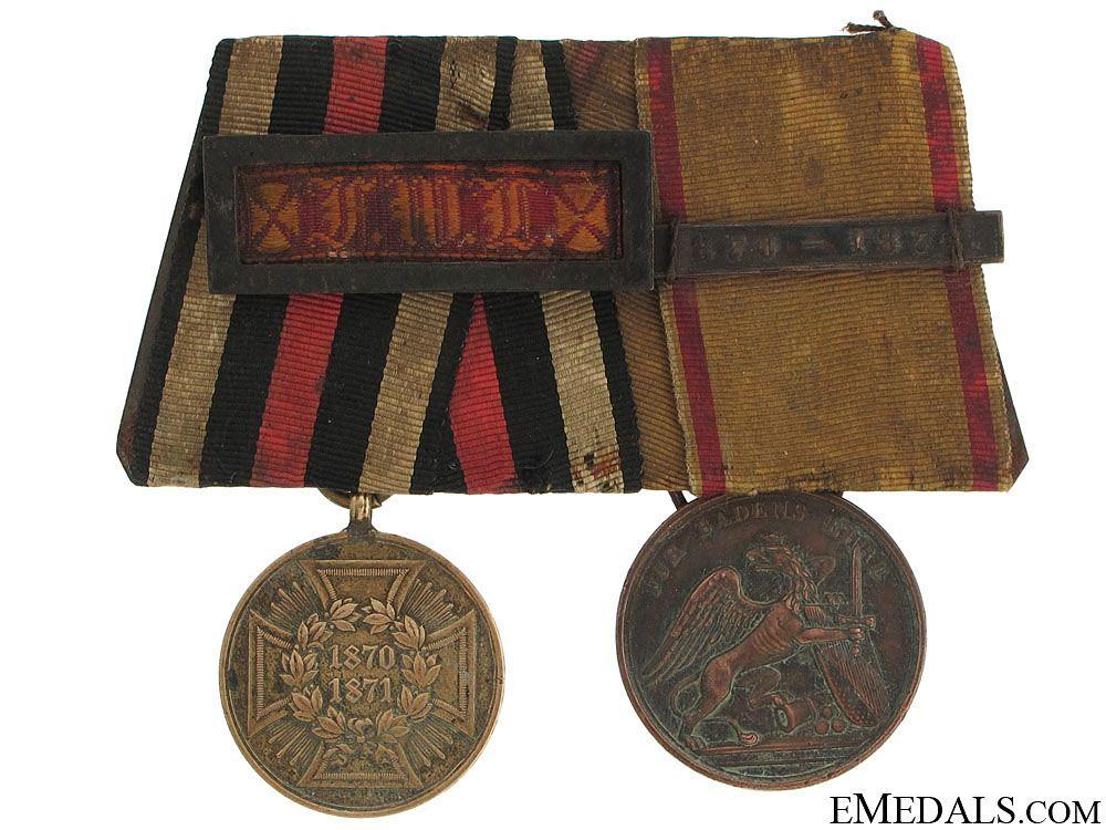 Pair of Imperial German Medals Item Number: G8071 USD $185.00