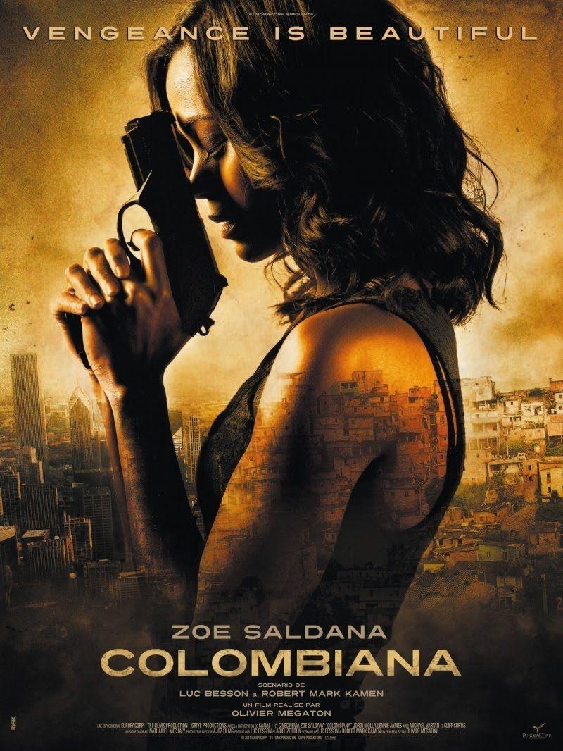 Colombiana New Movie Posters 2011 Movies Zoe Saldana