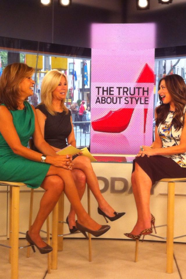 Random backtrack Day 1 - TODAY with Hoda and Kathie Lee.  Love these ladies.
