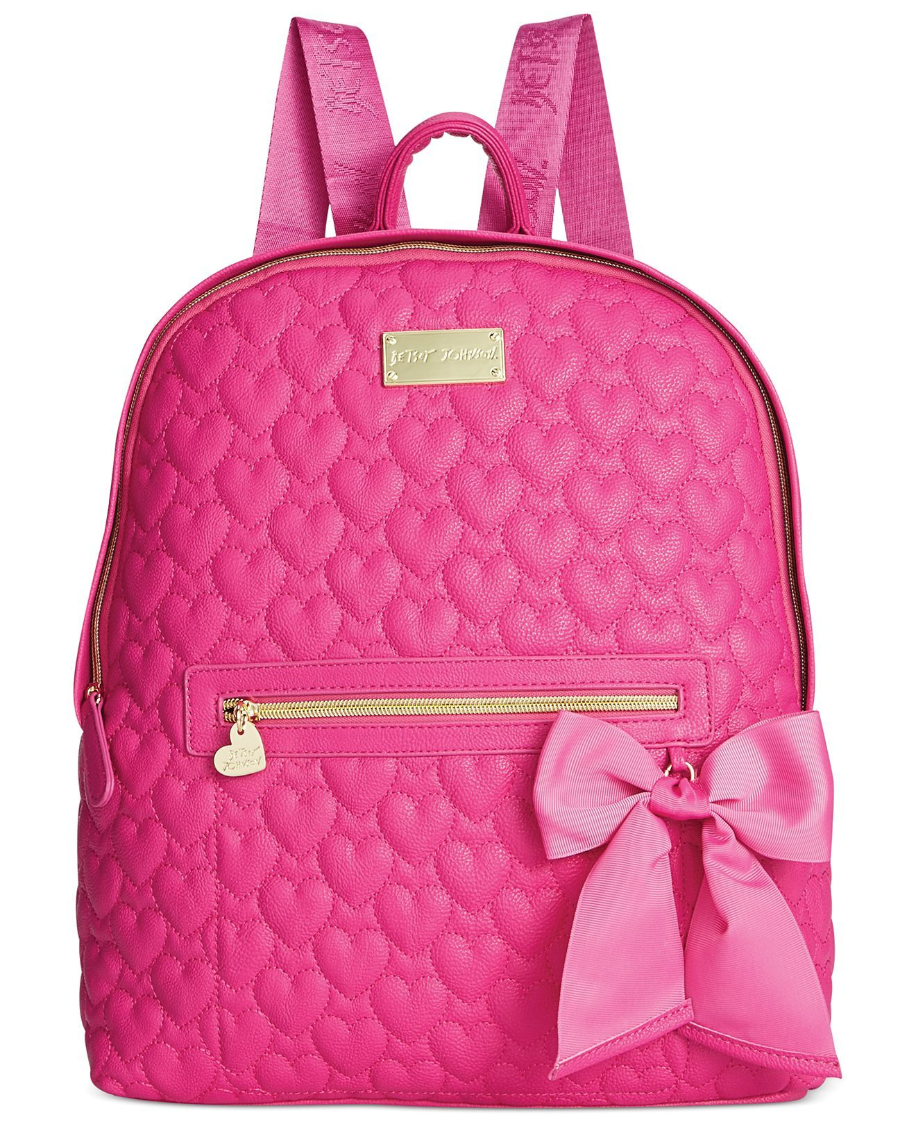 b08d551fd1 Betsey Johnson Quilted Backpack