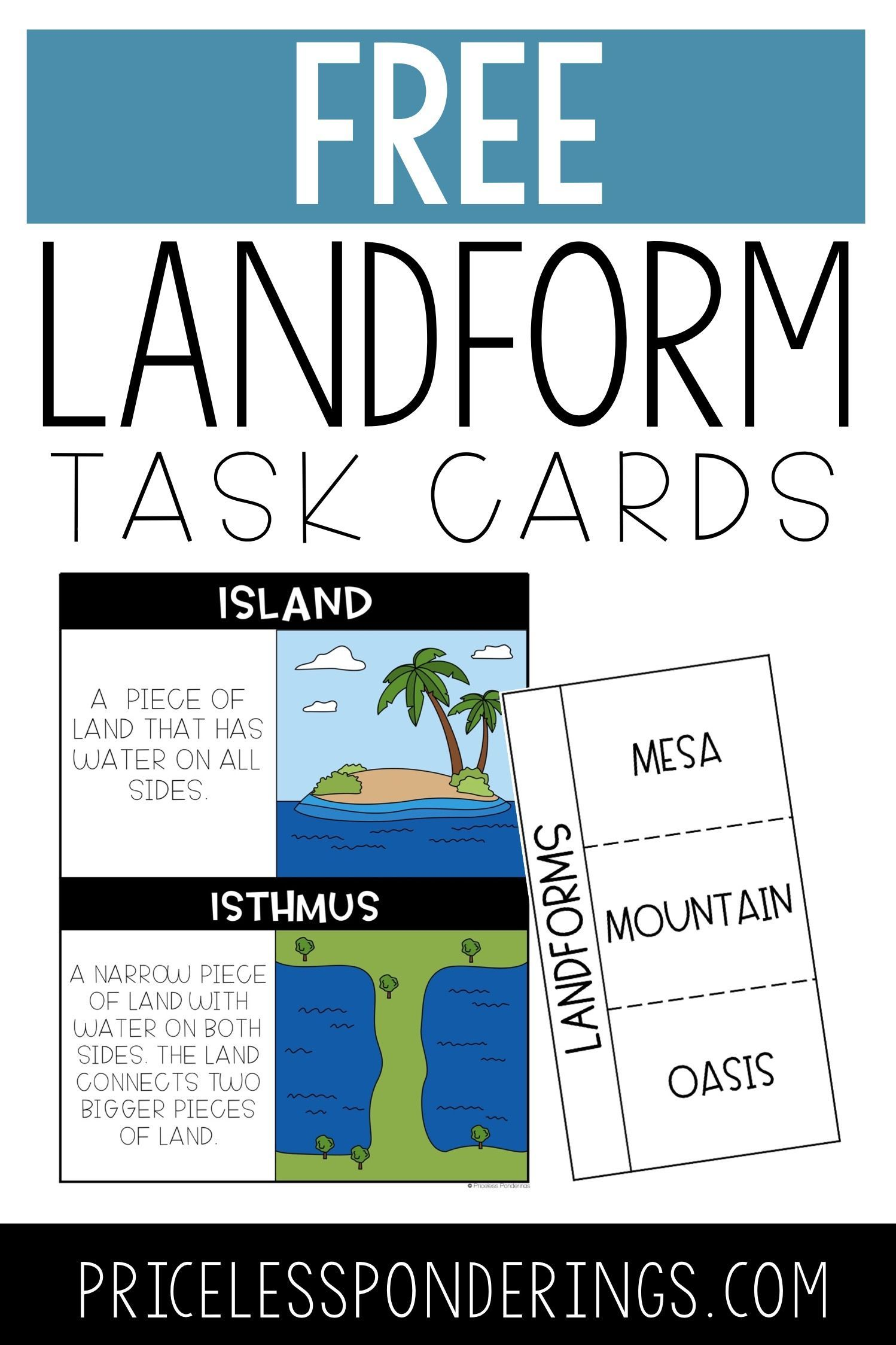 Are You Teaching Your Third Graders About Landforms Click