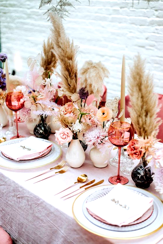 Photo of Table Decoration; Table Flowers; Table Of Wood; Table Flag; Tablecloth; Buffet; …