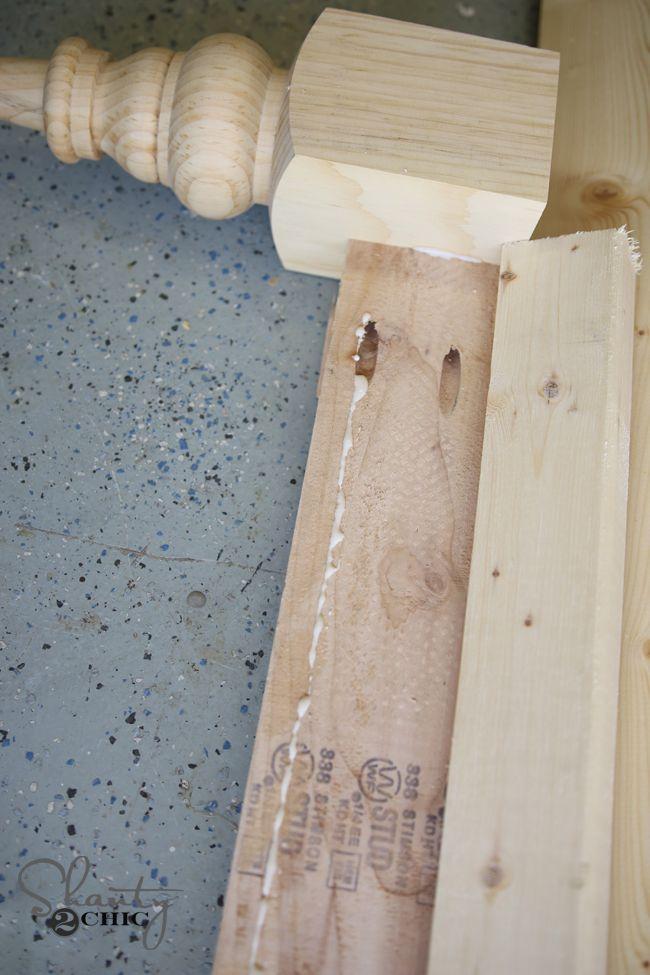 DIY Twin Platform Bed and Headboard | Twin platform bed ...