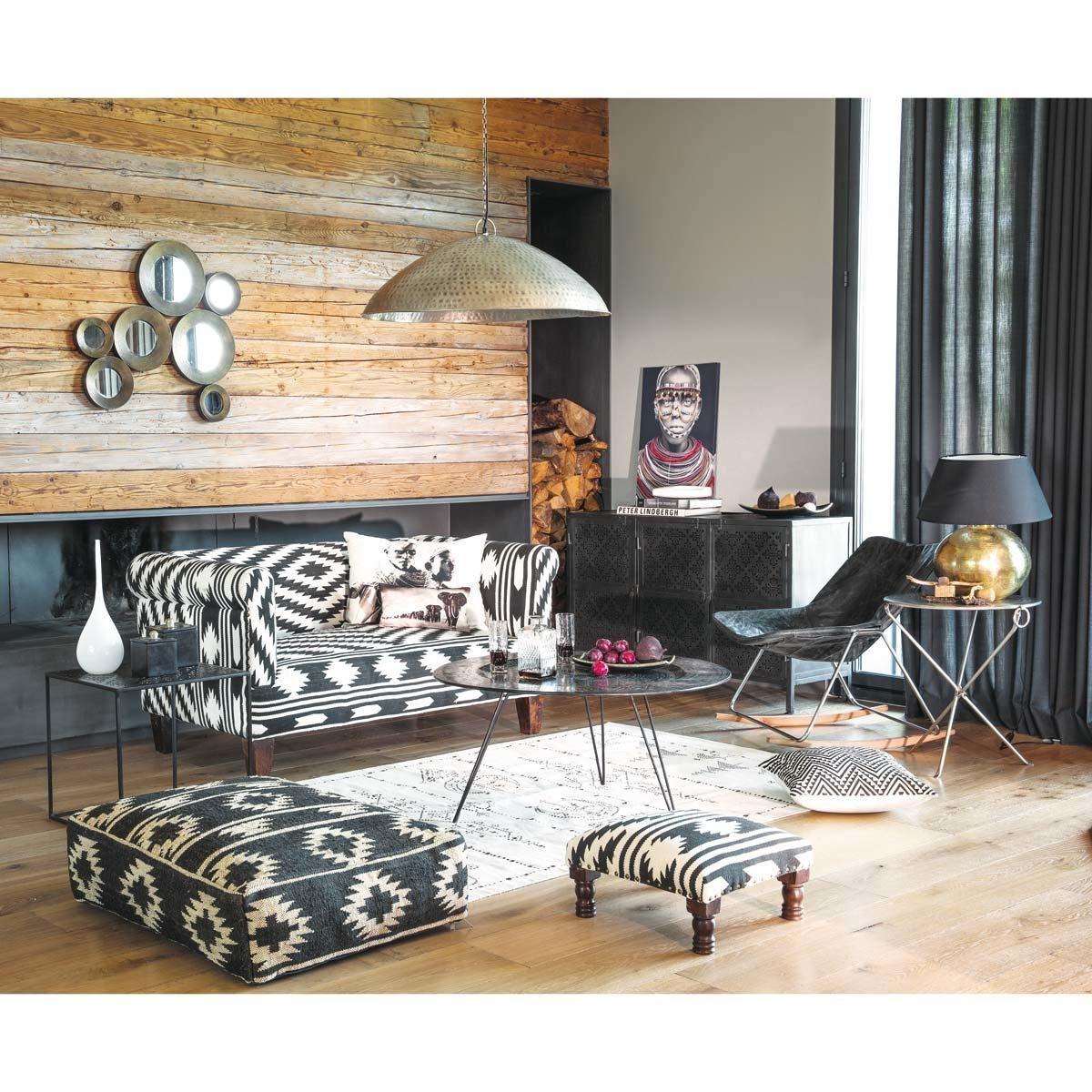 table basse ronde m tal khalife inspiration ethnique en 2018 pinterest tables basses. Black Bedroom Furniture Sets. Home Design Ideas