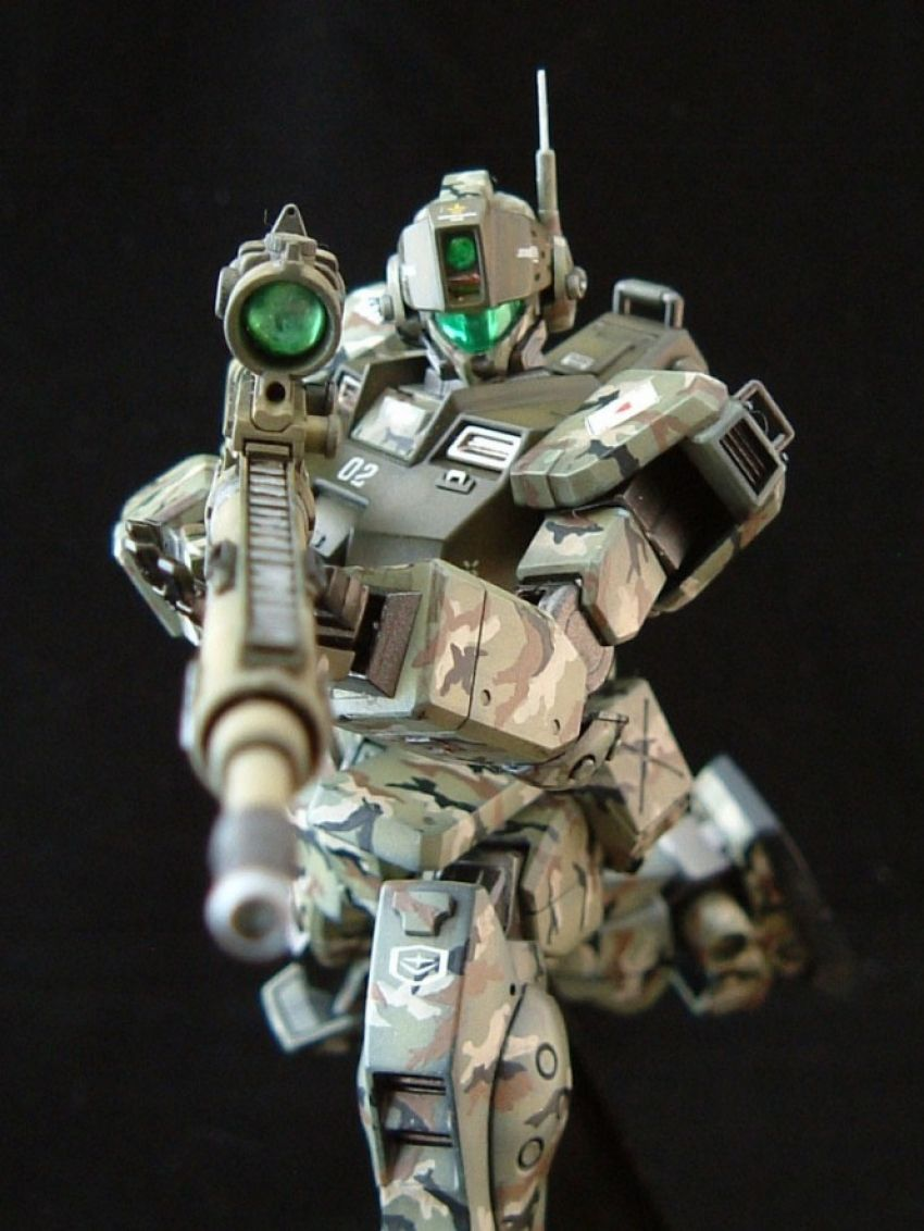 [Modelers-G] HGUC GM Sniper II Camouflage ver. by fujisan