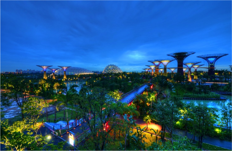 Inside Singapore S Green Vision Singapore Garden Gardens By The Bay Singapore
