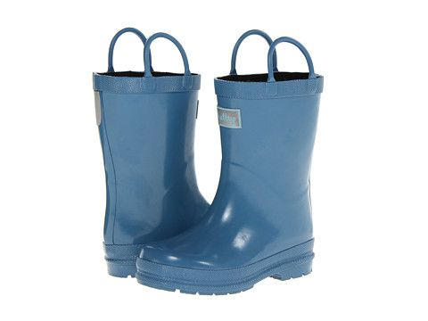 Hatley Kids Rain Boots (Toddler/Little Kid) Blue - Zappos.com Free ...