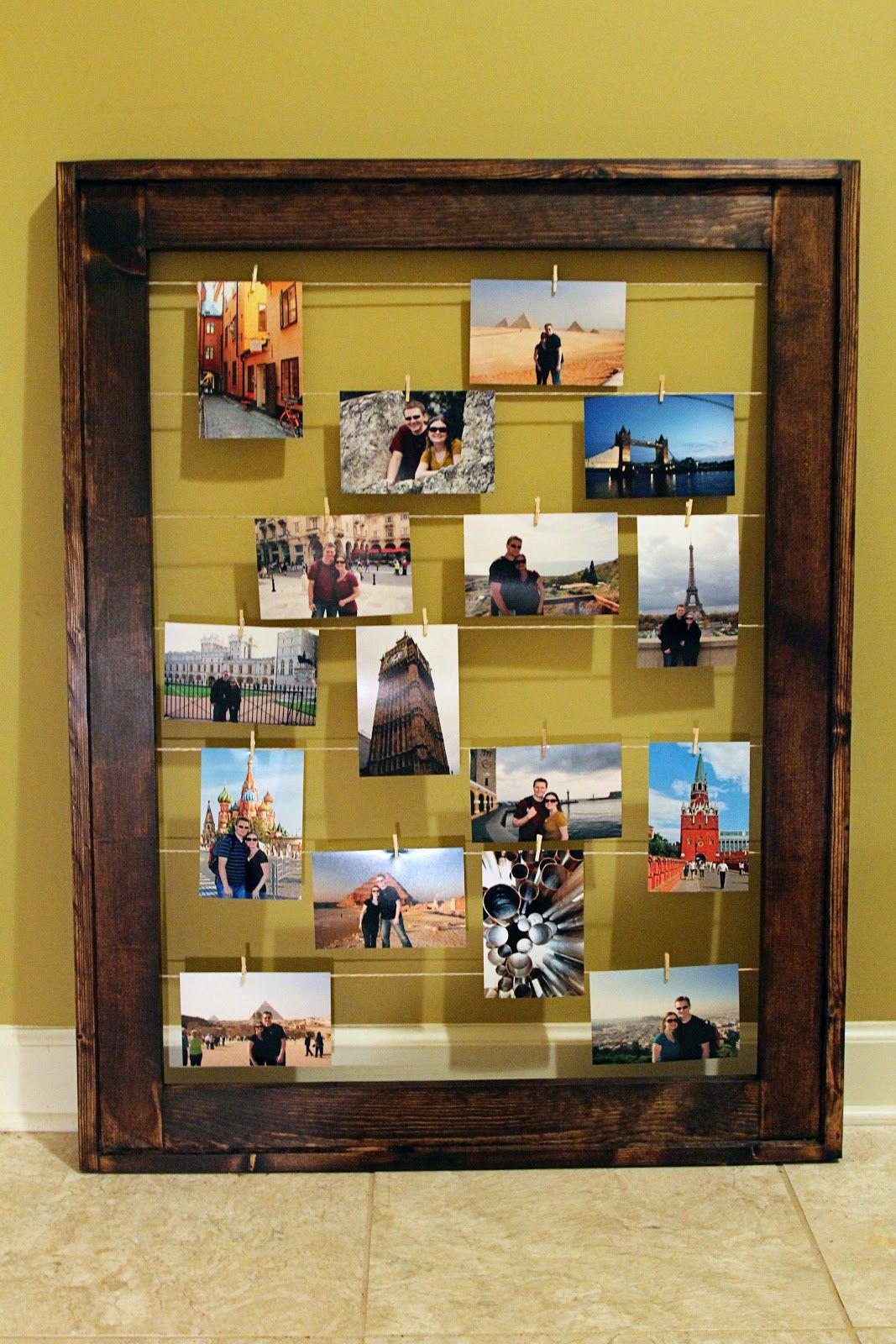 Simply Sarah: DIY Clothesline Frame- My 1st Ana White Plan   Crafts ...