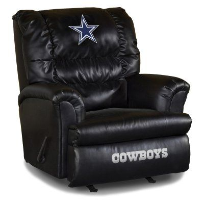 Imperial Nfl Big Daddy Leather Recliner Imp 79 1002 Il600 2