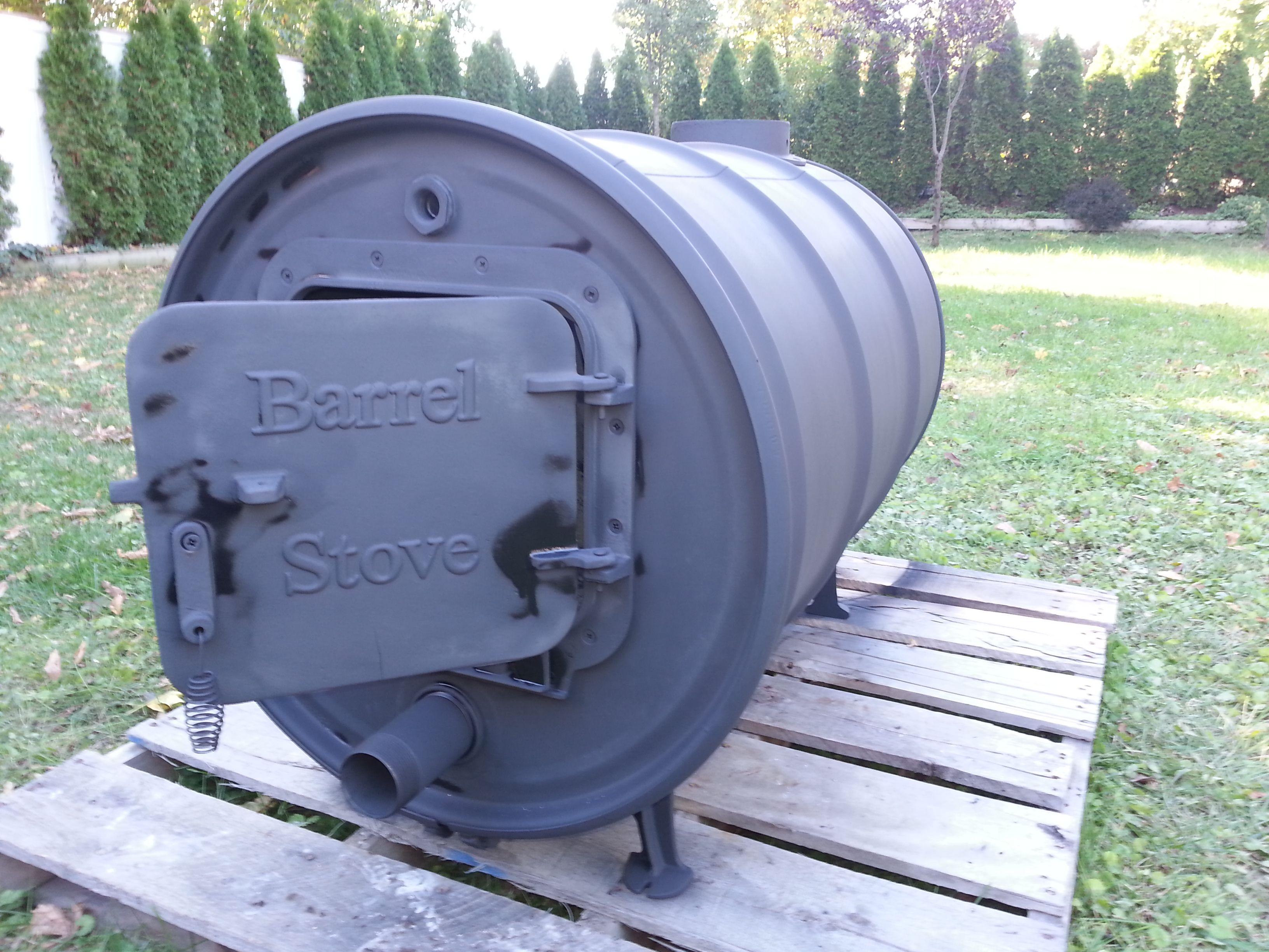 Barrel Stove, 55 gallon drum, stove kit, barrel stove kit, outdoor ...