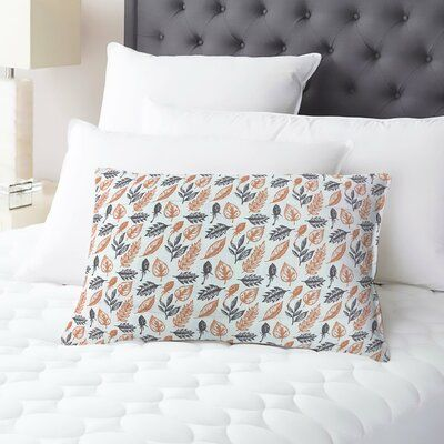Red Barrel Studio® Elegant earthy design embellished on the sheet set and the pillowcases. These designs elevate your bed set with playful icons reminiscent of a cool autumn day.