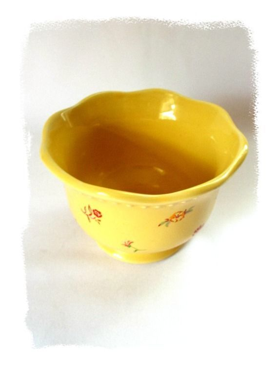 Plastic Decorative Bowls Adorable April Cornell Bowl Round Dish Decorative Enamelware Scallop Edge 2018