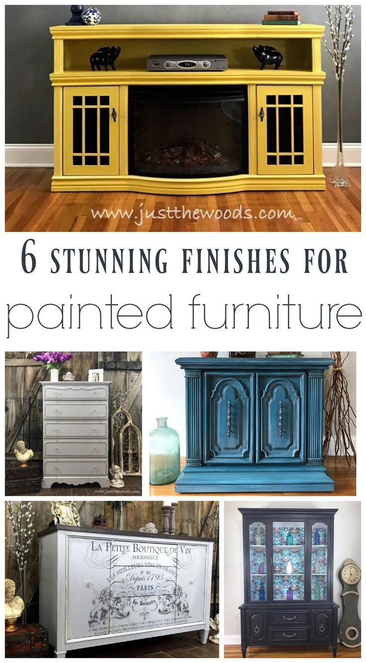 6 stunning finishes to update your furniture with paint furniture