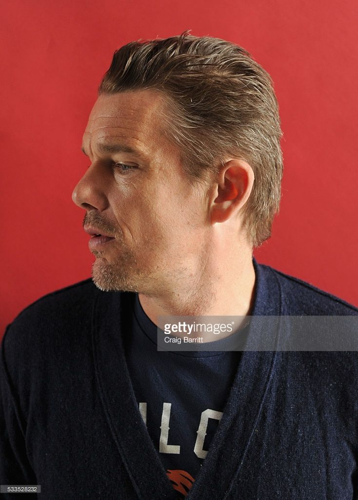 Actor Ethan Hawke attends the Ethan Hawke In Conversation interview at the Vulture Festival The Standard at The Standard on May 22, 2016 in New York City.