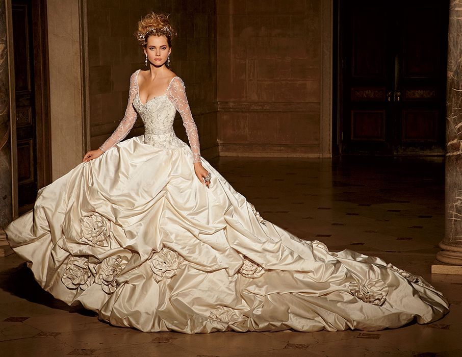 Make Fairytale Wedding by Choosing Princess Wedding Dresses | Ball ...