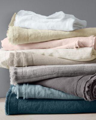 Eileen Fisher Washed Linen Collection Linen Duvet Covers Bed