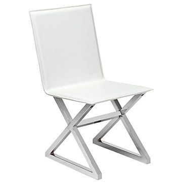 Axis Dining Chair  Dining Chairs Room And Dining Room Inspiration Brilliant White Leather Dining Room Chairs Sale Inspiration