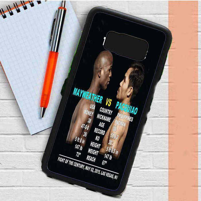 Pacquiao Vs Mayweather Samsung Galaxy S8 Plus Case Dewantary