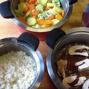 menú eficient i saludable amb HotPan a René-taller FortPienc