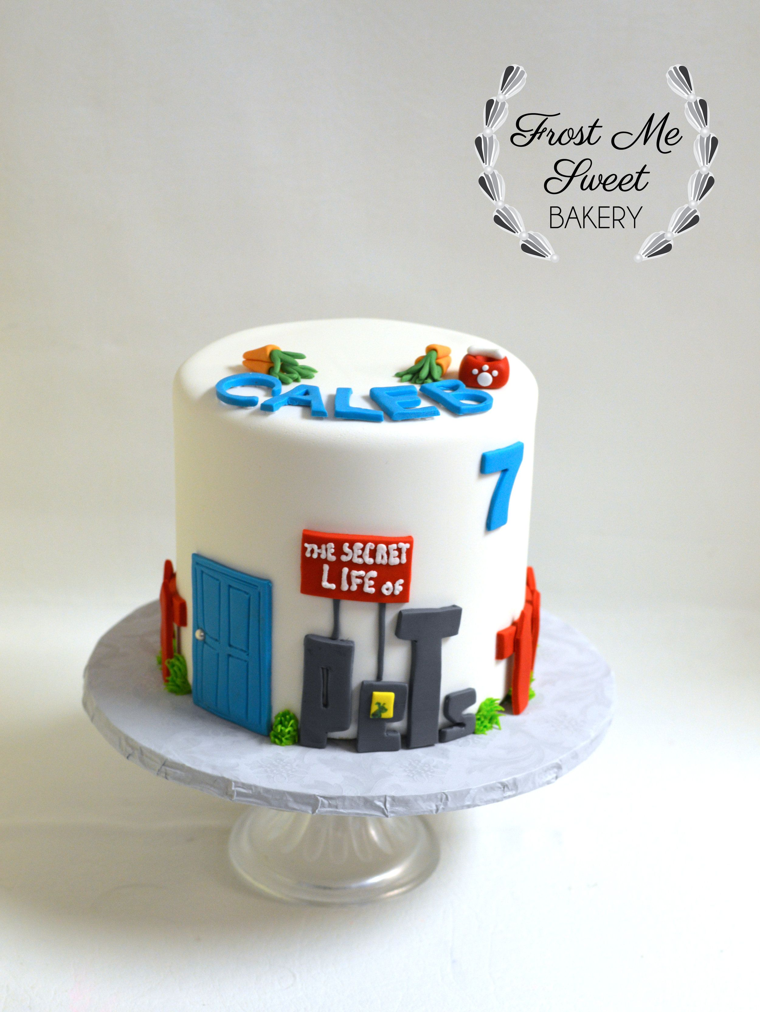 The Secret Life Of Pets Cake Jpg Boy Birthday Cake Birthday Party Cake Kids Cake