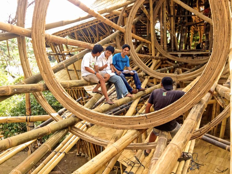 Gallery: These Buildings Are Made Of U2026 Bamboo?