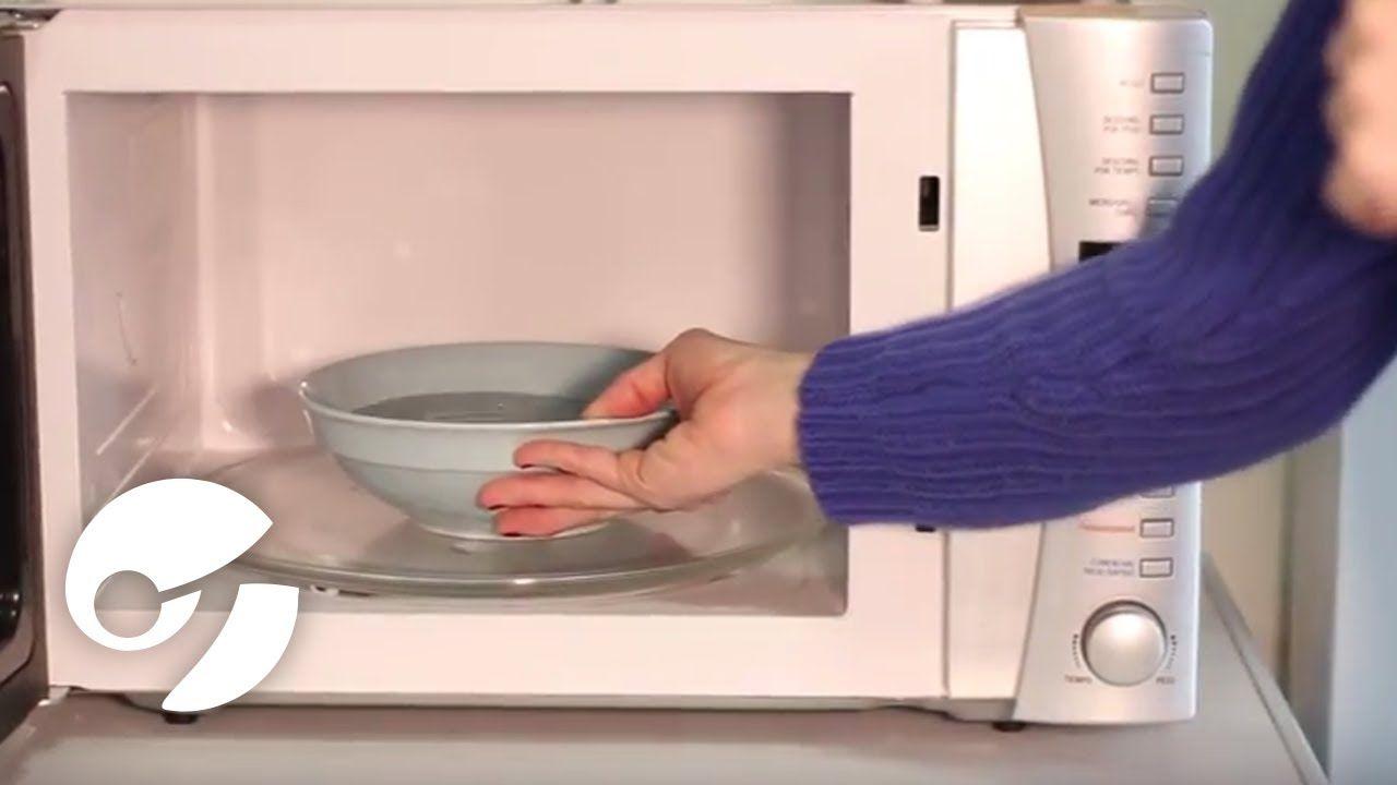 Cómo Limpiar Tu Horno Microondas Como Limpiar Horno Limpiar El Microondas Limpieza Del Horno